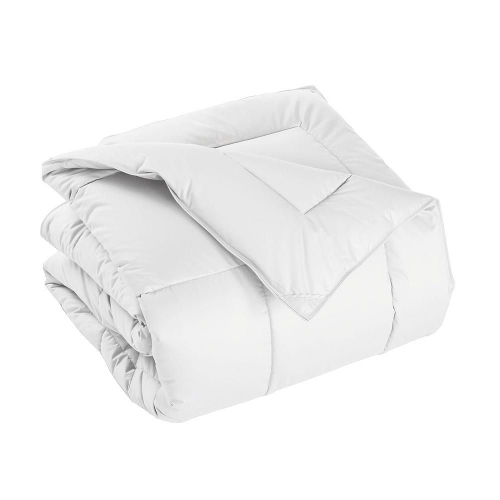 PrimaLoft Deluxe Medium Warmth White Twin Down Alternative Comforter