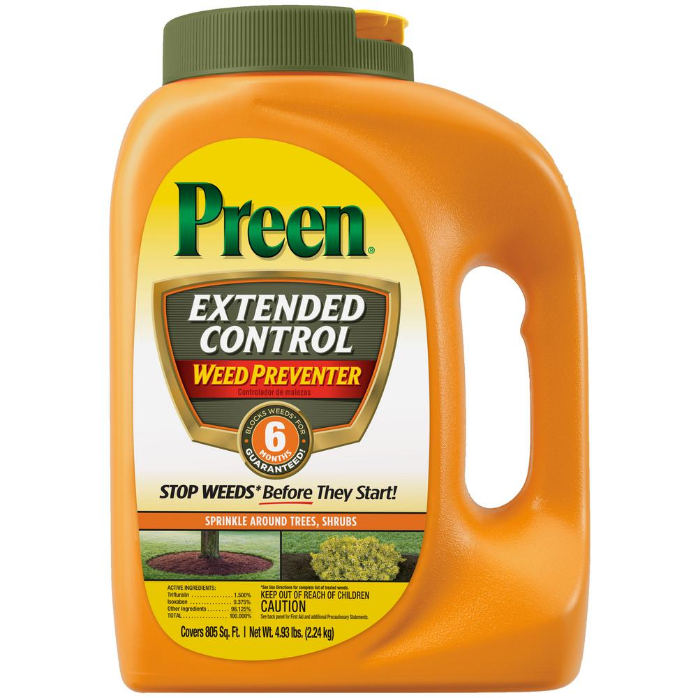Preen 4.93 lbs. Extended Control Weed Preventer