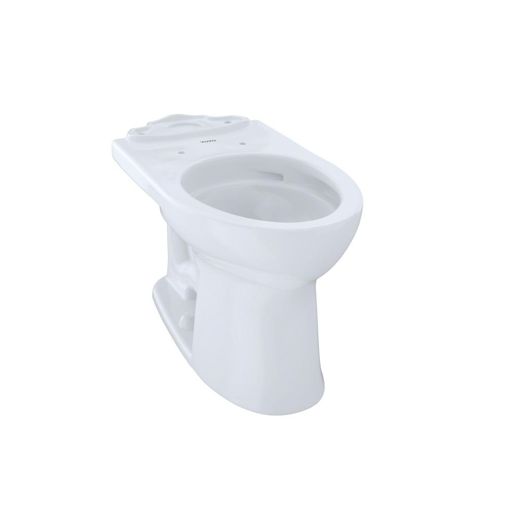 TOTO Drake II Elongated Toilet Bowl Only with CeFiONtect in Cotton White