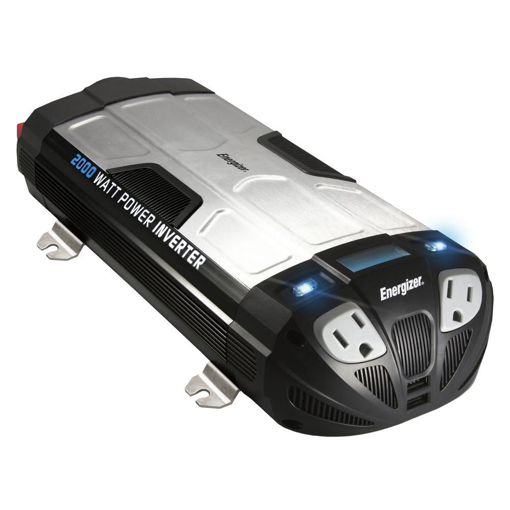 Energizer 2000-Watt 12-Volt Power Inverter