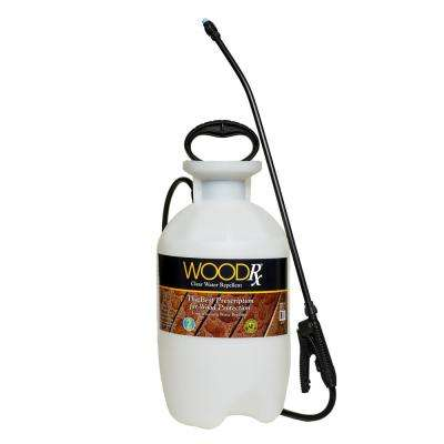 2 Gal. Clear Wood Protector with Pump Sprayer and Fan Tip