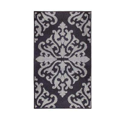 Cole Grey 2 ft. x 4 ft. Loop Area Rug