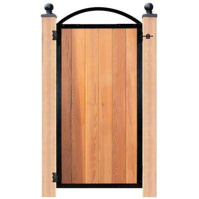 Easy-to-Install Arched Gate 6-Board Pro for 36.25 in. Openings