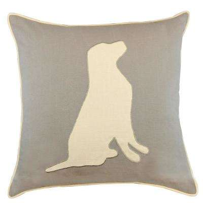 American Colors Appliqued Dog Pillow