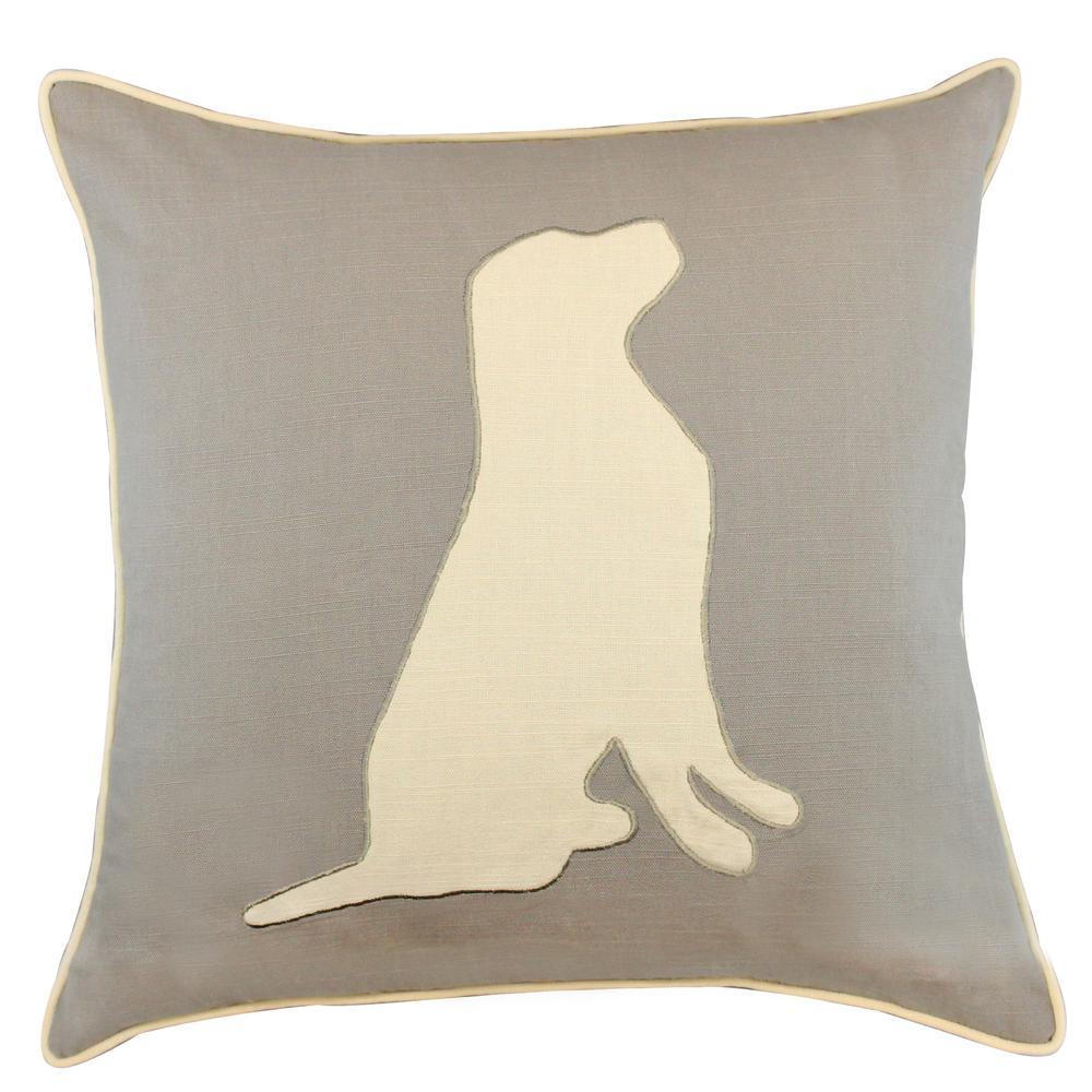 American Colors Appliqued Dog Pillow