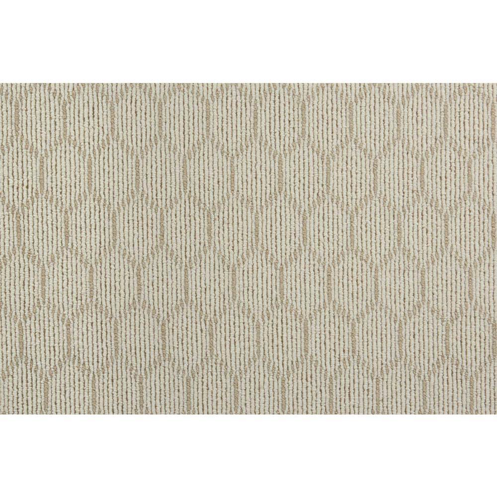 Entanglement - Color Ivory/Plains Loop 12 ft. Carpet
