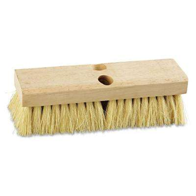 10 in. Tampico Bristles Deck Brush Head