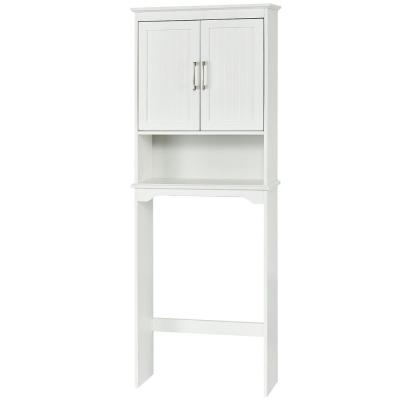 25 in. W x 66 in. H x 9 in. D Space Saver in White