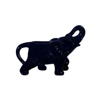 Brights 4.5 in. Indigo Elephant Creamer