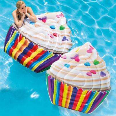 Cupcake Mattress Pool Float (2-Pack)