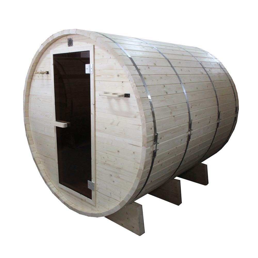 6-Person Pine Electric Heater Sauna