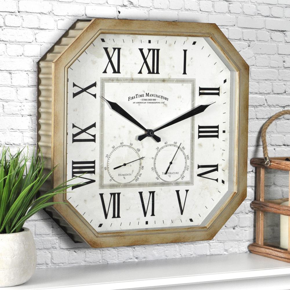 Indoor/Outdoor - Outdoor Clocks - Outdoor Decor - The Home Depot