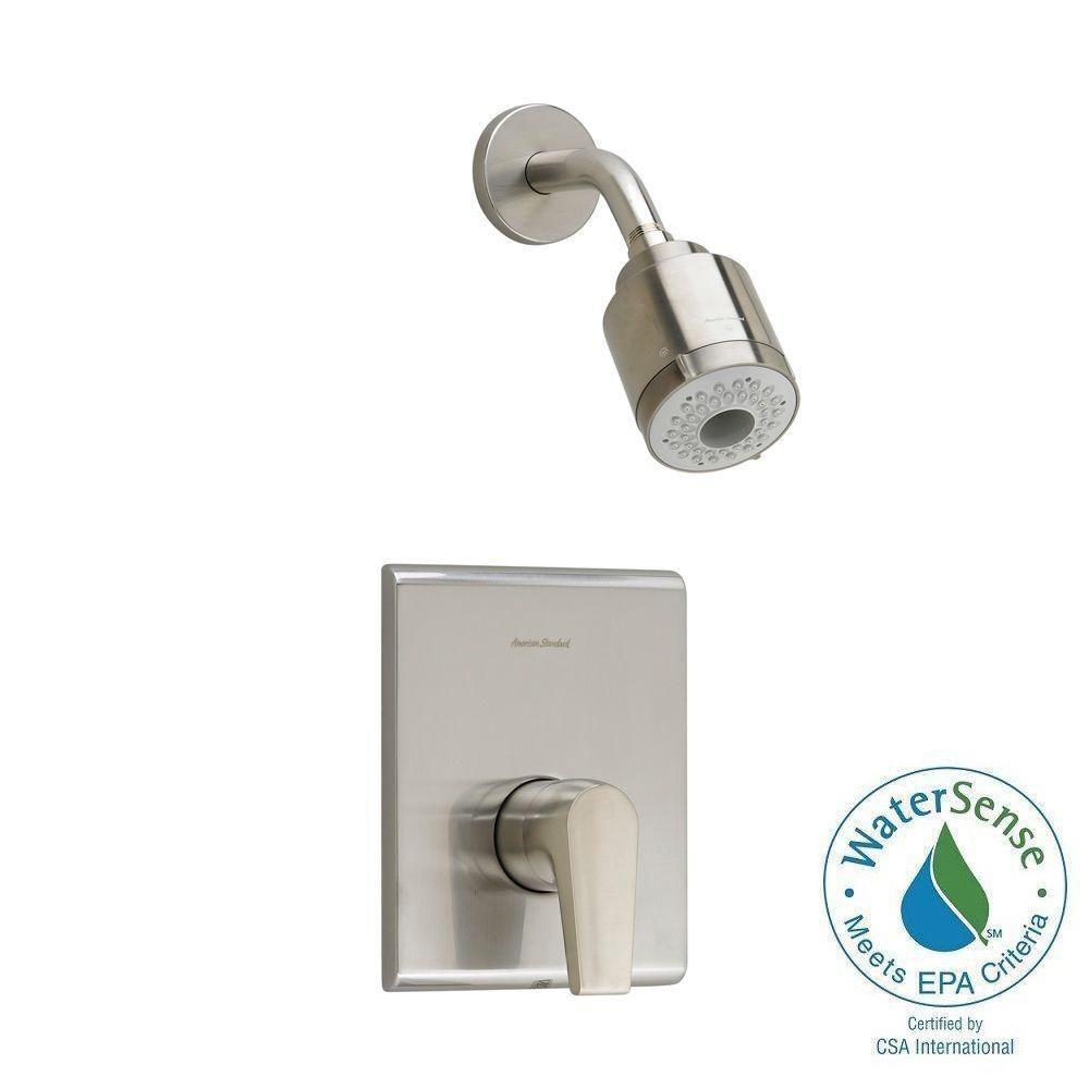 Studio 1-Handle 3-Function Shower Faucet Trim Kit in Brushed Nickel (Valve Sold Separately)