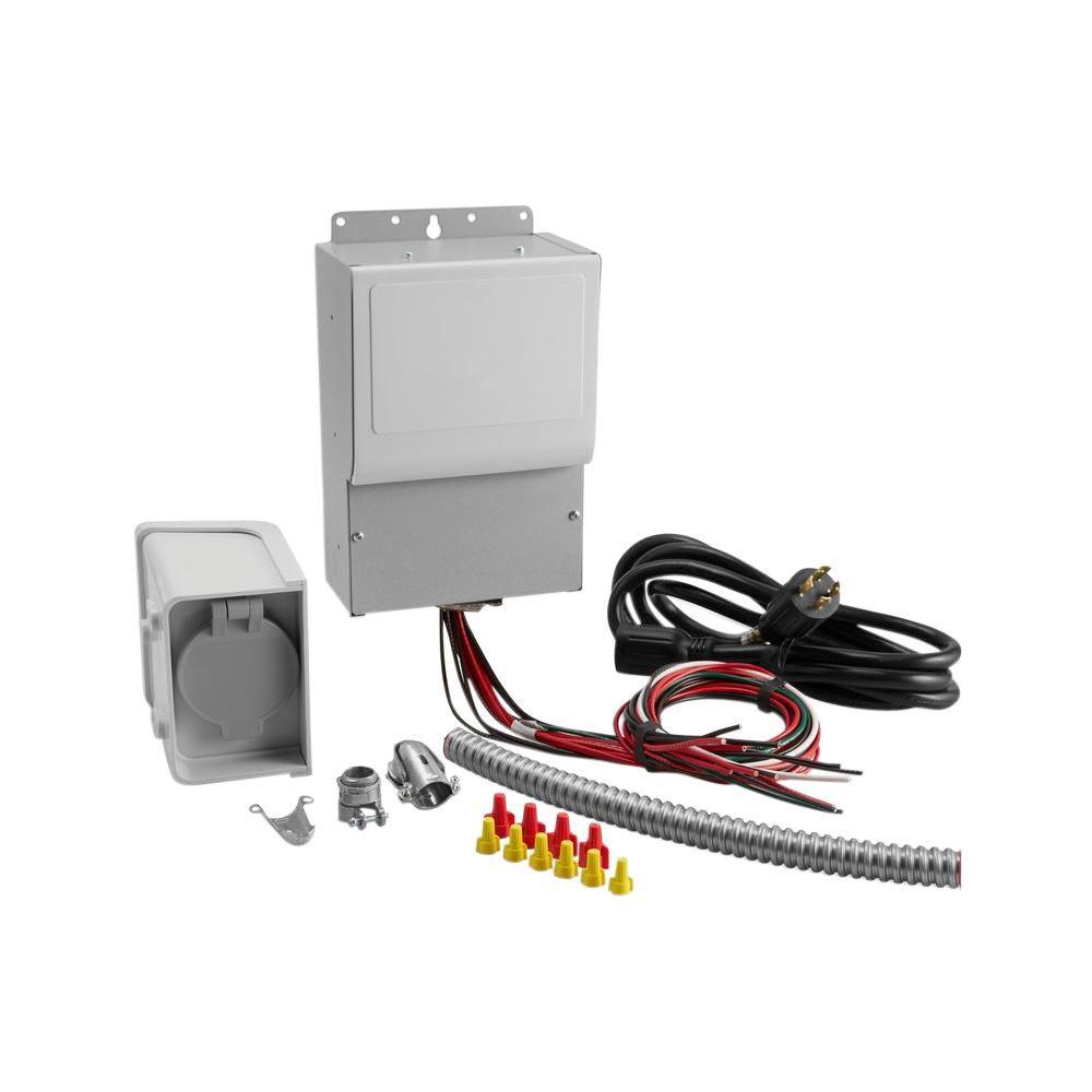 Generac 30 Amp Pre Wired 6 Circuit Manual Transfer Switch: KOHLER Manual Transfer Switch Kit (6-Circuit)-37 755 06-S - The rh:homedepot.com,Design