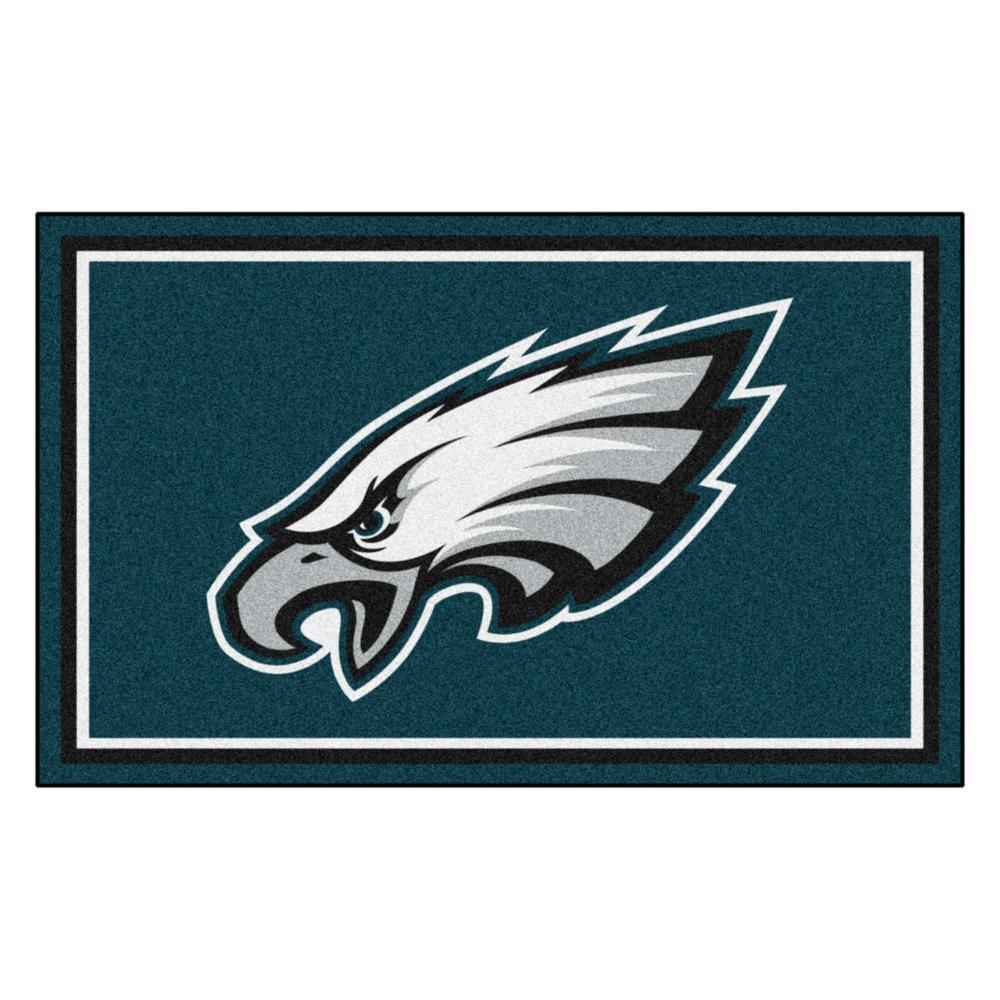 Philadelphia Eagles 4 ft. x 6 ft. Area Rug