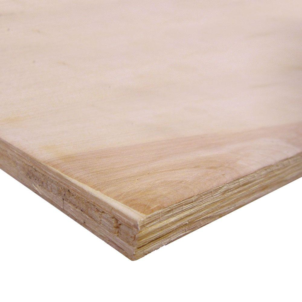 Birch plywood common 3 4 in x 2 ft x 4 ft actual 0 for Birch wood cost