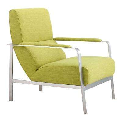 Jonkoping Lime Polyfiber Arm Chair