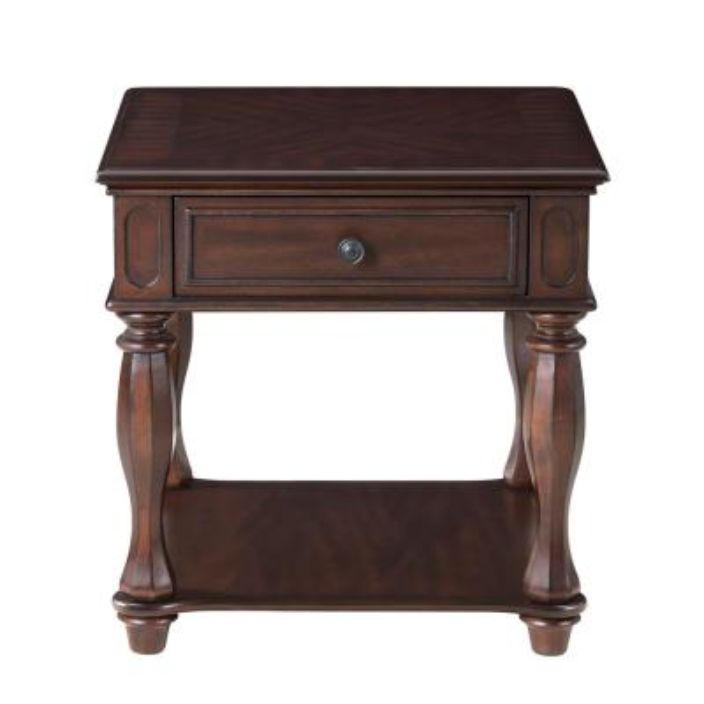 Ashford Antique Mahogany End Table