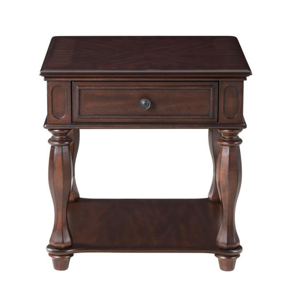 Antique Mahogany End Table 880133