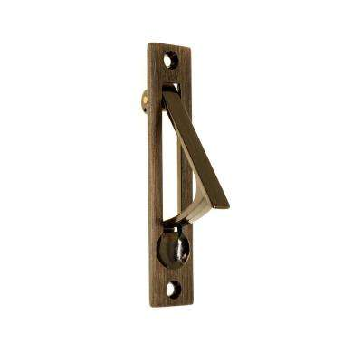 4 in. Solid Brass Edge Pull in Antique Copper