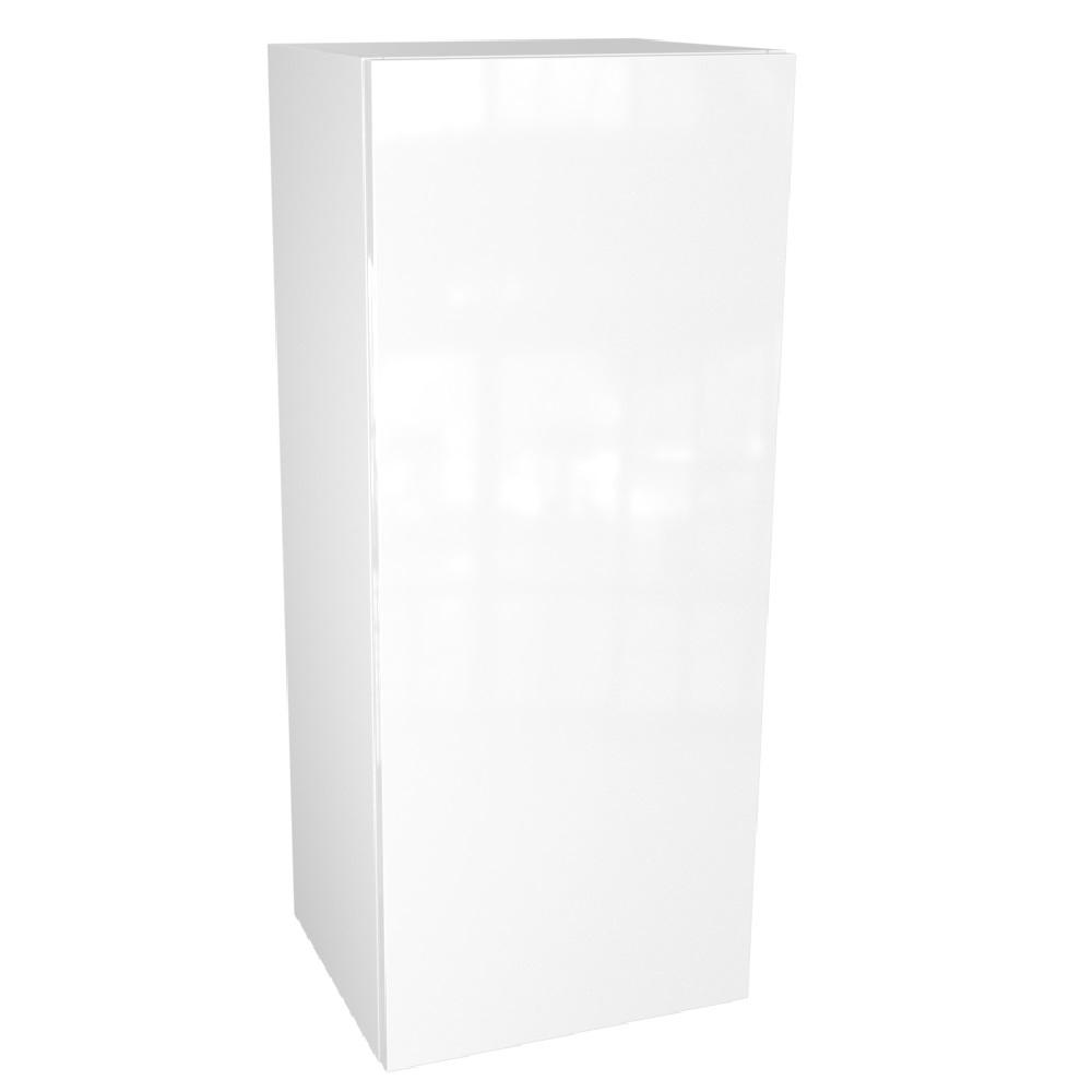 Cambridge Ready to Assemble 18 in. x 36 in. x 12 in. Wall Cabinet in Glossy White