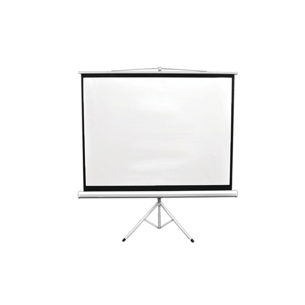 Pyle 84 in. Floor-Standing Portable Tripod Manual Projector Screen