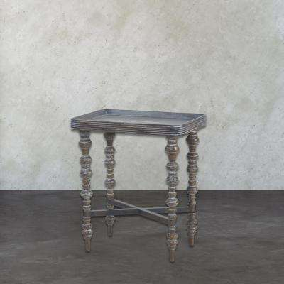 Heritage Grey End Table