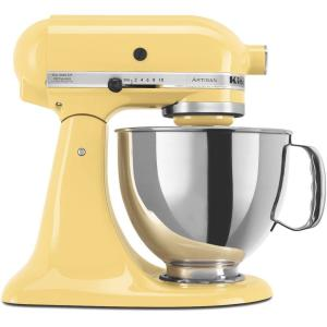 KitchenAid Artisan 5 Qt. Majestic Yellow Stand Mixer by KitchenAid