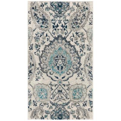 Madison Cream/Light Gray 2 ft. 3 in. x 4 ft. Area Rug