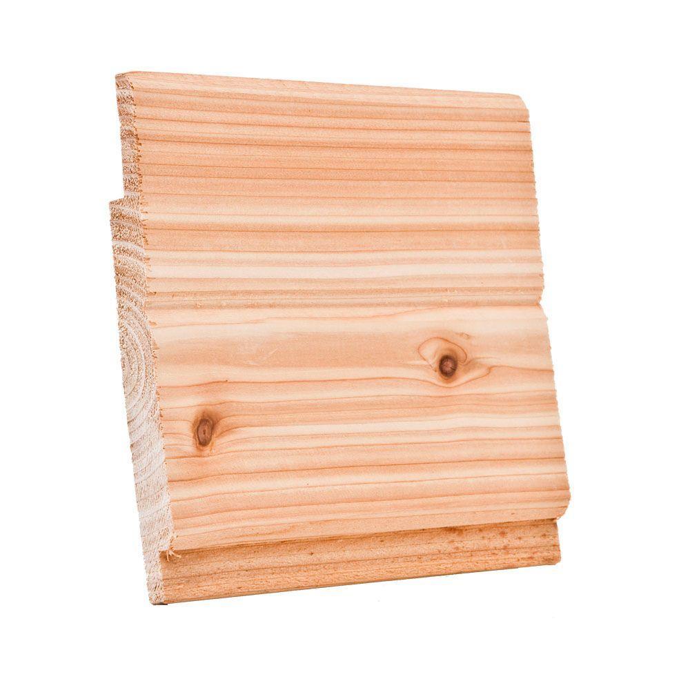 Selkirk Cedar 1 In X 8 In X 12 Ft Knotty Cedar Channel Siding Board 931688 The Home Depot