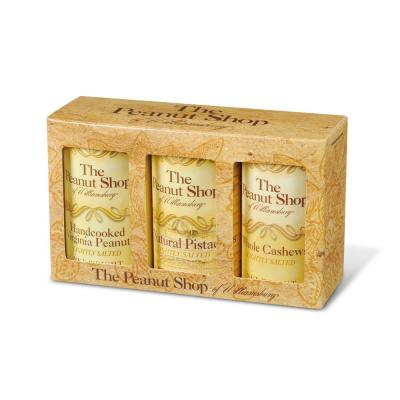 Everyday Gift Box - 3-Pack with Lightly Salted Peanuts with Cashews and Pistachios