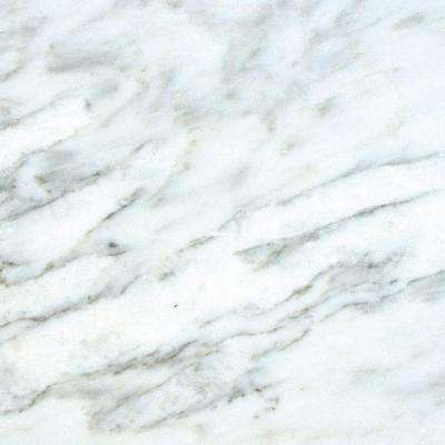 Greecian White 18 In X Honed Marble Floor And Wall Tile