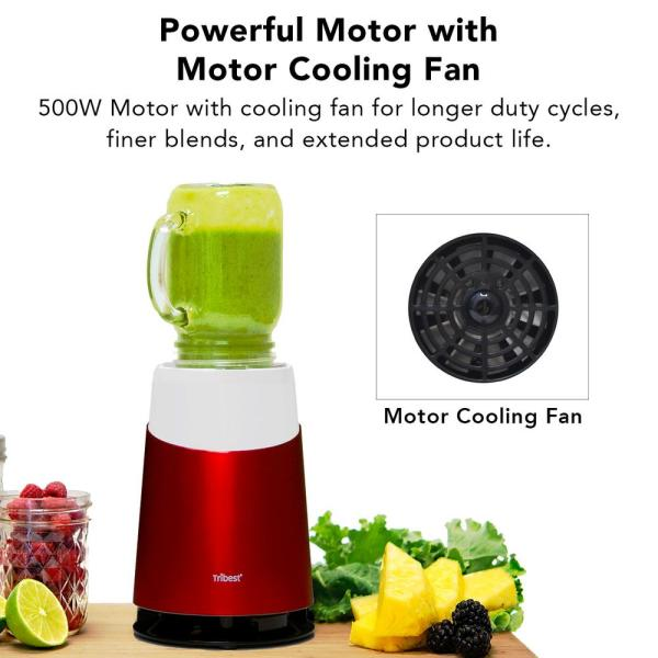 red tribest countertop blenders pb 410 rd 1f 600