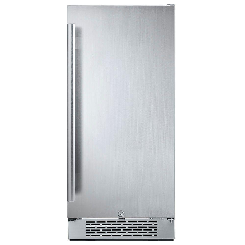 Bon Freezerless Refrigerator In Stainless Steel,