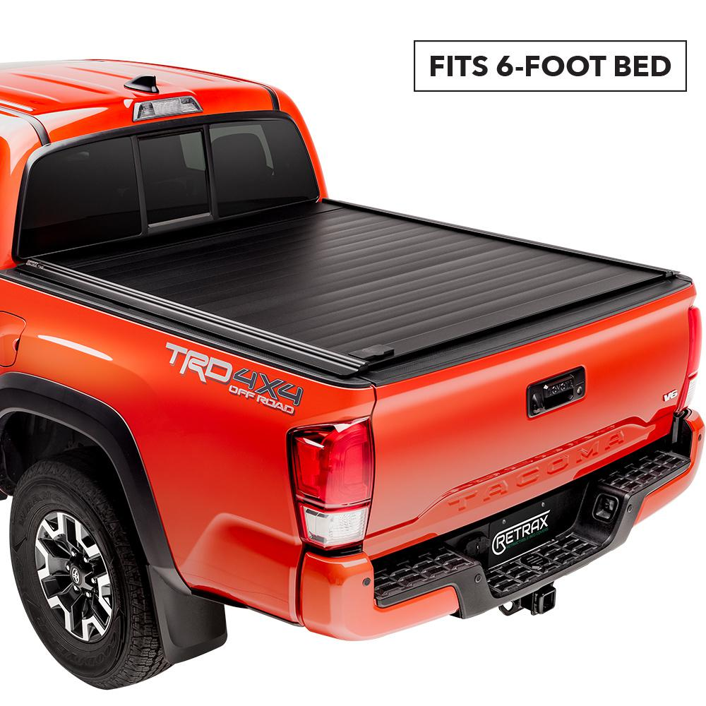Retrax Pro Mx Tonneau Cover 16 19 Toyota Tacoma Regular Access Double Cab 6 Bed 80852 The Home Depot