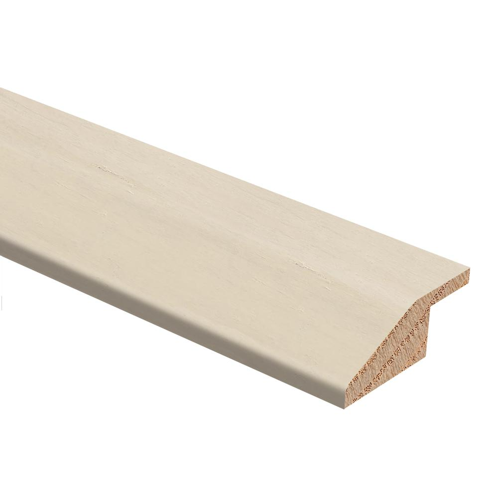 Zamma Strand Woven Bamboo White 3 8 In Thick X 1 3 4 In