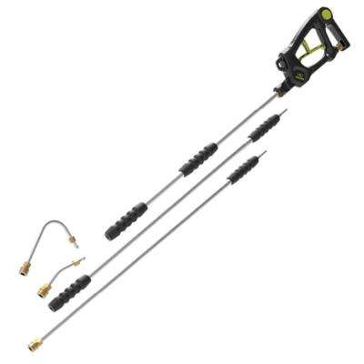 4000 PSI 9 ft. Universal Pressure Washer Extension Wand Sky Lance