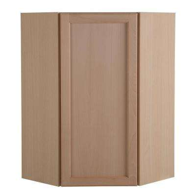 unfinished kitchen cabinets. Easthaven Assembled 23 64x36x23 64 in  Corner Wall Cabinet Unfinished German Beech Wood Kitchen Cabinets The Home Depot