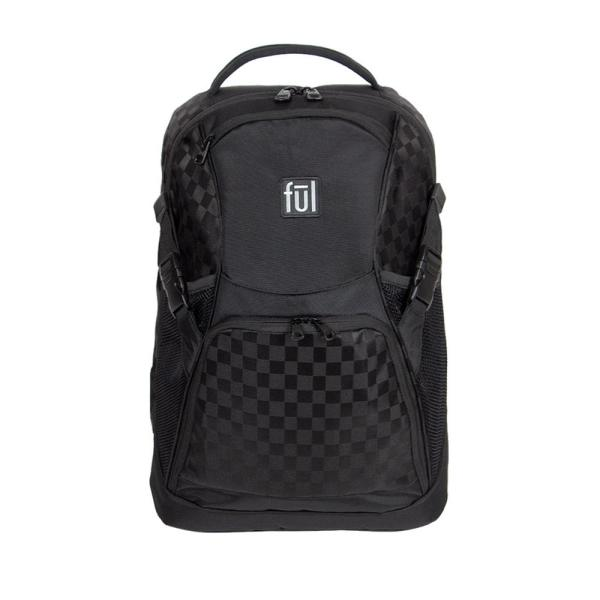 Ful Marlon 19 in. Black Laptop Backpack