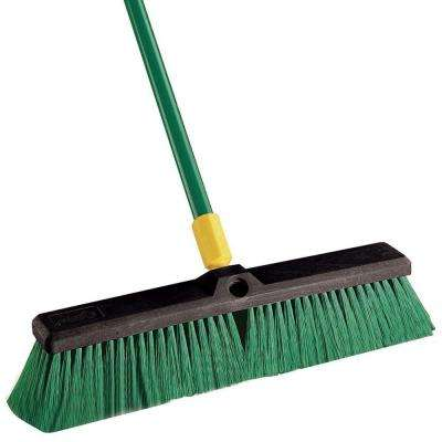 Bulldozer 18 in. Indoor/Outdoor Push Broom