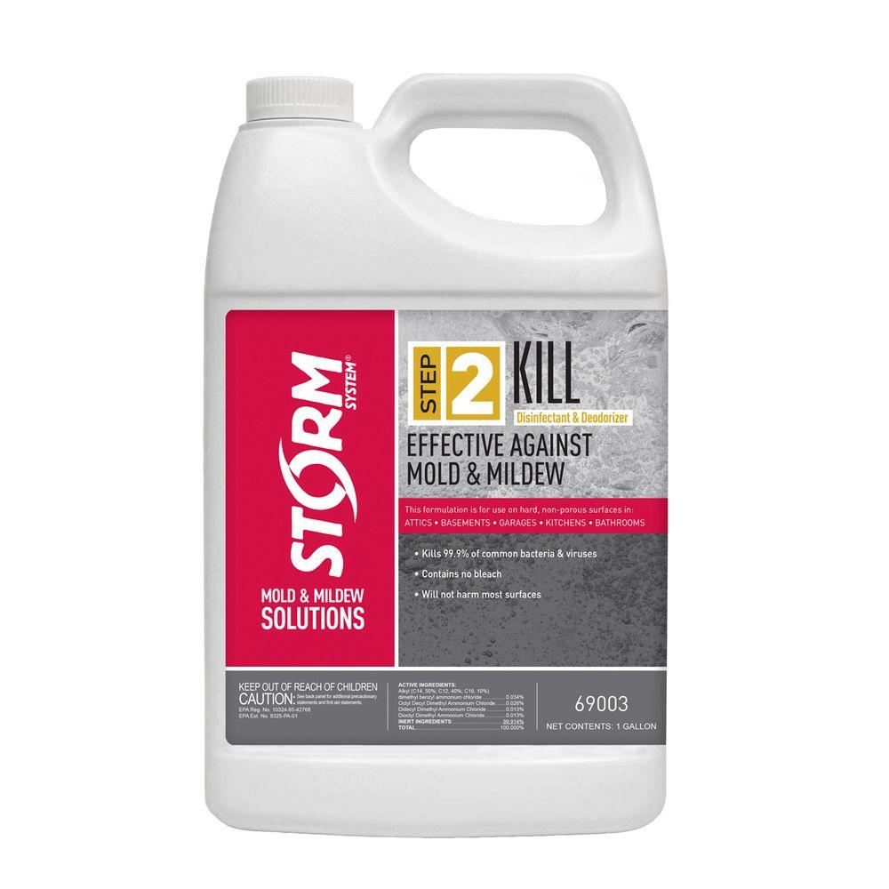 Storm System Step 2 Kill 1 gal  Mold and Mildew Disinfectant