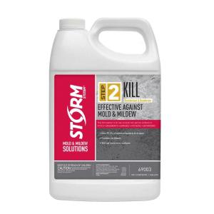 Storm System Step 2 Kill 1 Gal Mold And Mildew Disinfectant 69003xx 1 The Home Depot