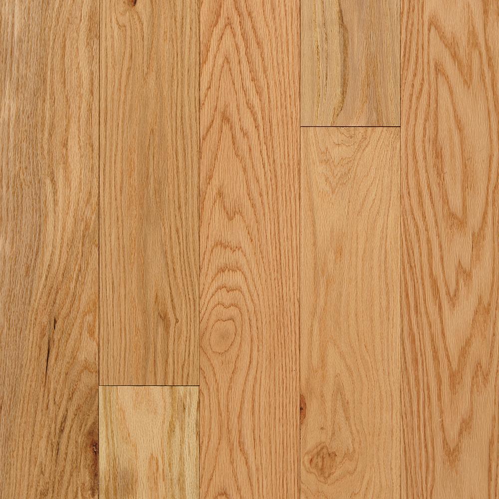 Red Oak Solid Hardwood Hardwood Flooring The Home Depot - Chickasaw brand hardwood flooring