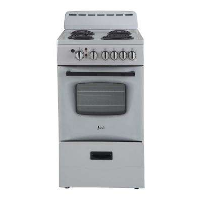 20 in. 2.1 cu. ft. Electric Range in White