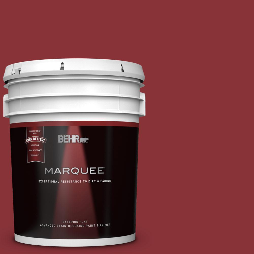 Qe 07 Country Lane Red Flat Exterior Paint And