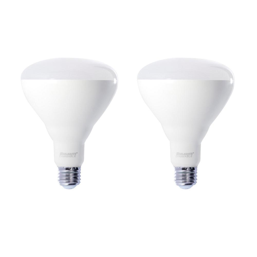 120W Equivalent Soft White Light BR40 Dimmable LED Very Wide Flood