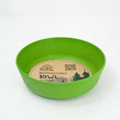 16 oz. Green Bamboo Bowl (6-Pack)