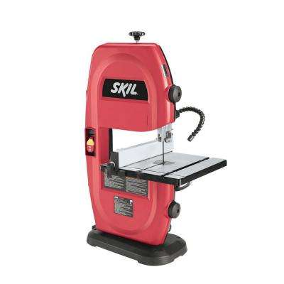 2.5 Amp Corded Electric 9 in. Portable Band Saw with Built-In Light