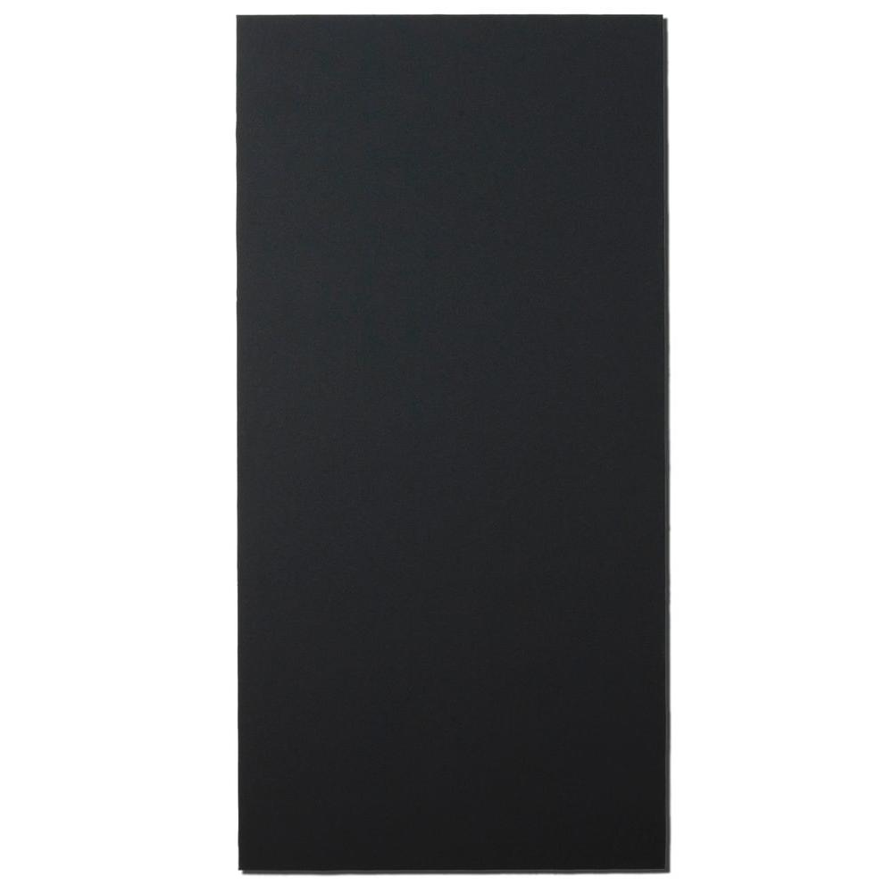 Owens Corning 1.125 in. x 24 in. x 48 in. Dark Grey Rectangle Sound Absorbing Acoustic Insulation Wall Panels (2-Pack)