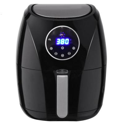 1400-Watt Electric Air Fryer 3.4 Qt. LCD Touch Screen Timer and Temperature Control